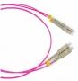 Патч-корд волоконно-оптический (шнур) MM 50/125(OM4), LC-LC, duplex, LSZH, 10 м Hyperline