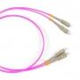 Патч-корд волоконно-оптический (шнур) MM 50/125(OM4), SC-SC, 2.0 мм, duplex, LSZH, 1 м Hyperline