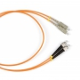 Патч-корд волоконно-оптический (шнур) MM 62.5/125, SC-FC, 2.0 мм, duplex, LSZH, 3 м Hyperline