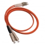 Патч-корд волоконно-оптический (шнур) MM 62.5/125, LC-SC, duplex, LSZH, 50 м Hyperline