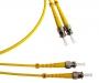 Патч-корд волоконно-оптический (шнур) SM 9/125 (OS2), ST/APC-ST/APC, 2.0 мм, duplex, LSZH, 2 м Hyperline