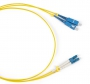 Патч-корд волоконно-оптический (шнур) SM 9/125 (G657), LC/UPC-SC/UPC, duplex, LSZH, 1м Hyperline
