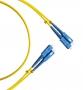 Патч-корд волоконно-оптический (шнур) SM 9/125 (G657), SC/UPC-SC/UPC, 2.0 мм, duplex, LSZH, 1м Hyperline