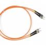 Патч-корд волоконно-оптический (шнур) MM 62.5/125, ST-ST, duplex, LSZH, 3 м Hyperline