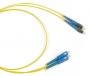 Патч-корд волоконно-оптический (шнур) SM 9/125 (OS2), SC/UPC-FC/UPC, duplex, LSZH, 1 м Hyperline
