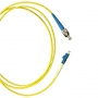 Патч-корд волоконно-оптический (шнур) SM 9/125 (OS2), FC/UPC-LC/UPC, simplex, LSZH, 3 м Hyperline