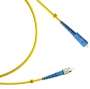 Патч-корд волоконно-оптический (шнур) SM 9/125 (OS2), FC/UPC-SC/UPC, simplex, LSZH, 20 м Hyperline