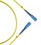 Патч-корд волоконно-оптический (шнур) SM 9/125 (OS2), SC/APC-SC/APC, simplex, LSZH, 1 м Hyperline