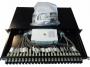 Оптическая панель,48 SC пигтейла, многомод (OM3),1U,черная Siemon