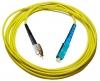Шнур оптический FC/UPC-SC/UPC, SM, simplex, 2m