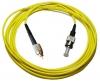 Шнур оптический FC/UPC-ST/UPC, SM, simplex, 1m
