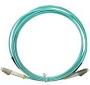 Патч-корд волоконно-оптический XGLO, MM 50/125 (OM3), LC-LC, duplex, LSOH (IEC 60332-3C), 1 м, аква Siemon