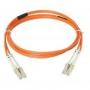 Патч-корд волоконно-оптический LightSystem, MM 50/125 (OM2), LC-LC, duplex, LSOH (IEC 60332-3C), 1 м, оранжевый Siemon