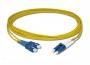 Патч-корд волоконно-оптический XGLO, SM (OS1/OS2), LC/UPC-SC/UPC, duplex, LSOH (IEC 60332-3C), 1 м, желтый Siemon