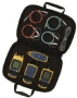 В комплект входит FQM-KIT и взуальный определитель неисправности волокна Visual Fault Locator с универсальным адаптером 2,5 мм, измеритель оптической мощности (SimpliFiber Pro Power Meter), и многомодовый источник сигнала, а также сумку для переноски
