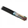 Hyperline FUTP25-C3-S24-ARM-OUT-PE-BK Кабель витая пара, экранированная F/UTP, категория 3, 25 пар (24 AWG), одножильный (solid), экран - фольга, бронированный, внешний, PE, черный