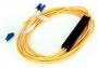 Оптический циркулятор GIGALINK, 2 длины волны 1550 нм в одно волокно, LC/UPC коннекторы (GL-CR1550)