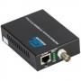 Медиаконвертор (ONU) FTTB ONU, 1 PON SC порт, 1 Base-T 10/100/1000Mb/s, пластиковый корпус, внешний адаптер питания 220V
