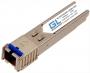 Модуль GIGALINK SFP, WDM, 100/155 Мбит/c, одно волокно SM, SC, Tx:1550/Rx:1310 нм, 14 дБ (до 20 км) (GL-09R)