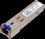Модуль промыш. GIGALINK SFP, WDM, 1Гбит/c, одно волокно SM, SC, Tx:1310/Rx:1550 нм, 20 дБ (до 40 км) -40~+85C
