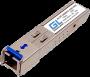 Модуль промыш. GIGALINK SFP, WDM, 1Гбит/c, одно волокно SM, SC, Tx:1550/Rx:1310 нм, 20дБ (до 40 км) -40~+85C