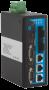 Промышленный управляемый коммутатор, 3*10/100Base-T, 2*100Base-FX (SC), до20км, 2*RS-232, -40+70С, DC12~48v