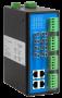Промышленный управляемый коммутатор, 4*10/100Base-T, 4*100Base-FX (ST), MM2км/SM20км, 4*RS-232/422/485, -40+85С (возможно питание от двух источников)
