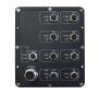 Коммутатор упарвляемый L2, для водного транспорта IP67, 8 портов 10/100/1000 мб/с M12, 2 порт 2LC 1000mbs 10km, 802,11af/at 1-8 порты, WEB/Console/SNMP, DIN, -40+70C, питание (m23) 6,5~57В (PoE 43~57В) 240вт