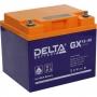Аккумуляторная батарея Delta GX 12-40 (12V / 40Ah)