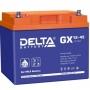 Аккумуляторная батарея Delta GX 12-45 (12V / 45Ah)