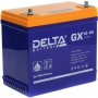 Аккумуляторная батарея Delta GX 12-55 (12V / 55Ah)