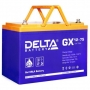 Аккумуляторная батарея Delta GX 12-75 (12V / 75Ah)