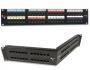 """Патч-панель 19"""", 16 портов, категория 5e, неэкранированная, универсальная (T568A/B), 1U (из упак. 5 штук, поставляются без кабельного организатора) Siemon"""