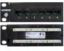 """Патч-панель 19"""", 24 порта, категория 5e, неэкранированная, универсальная (T568A/B), 1U, с задним кабельным организатором HD-RWM Siemon"""