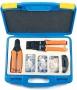 Набор инструментов (инструмент обжимной для RJ-45, RJ-12, обрезка, зачистка, 50х8P8C, 50x6P6C) Hyperline