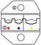 Сменные губки для HT-336FM (AWG22-18/16-14/12-10), DIN 0.5-1.0/1.5-2.5/4-6 мм. Hyperline