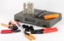 Набор инструментов для инсталляции сети (инструмент обжимной для RJ-45/12/11, инструмент обжимной для RG-6/8/11/58/59/62/174/179, обрезка, зачистка, инструмент для заделки витой пары 66/88/110 типа, тестер) Hyperline