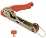 Инструмент опрессовочный для компрессионных разъемов F, BNC, RCA Hyperline