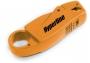 Инструмент для зачистки и обрезки коаксиального кабеля RG58/59/62/6 Hyperline