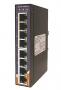 Коммутатор PoE промышленный неуправляемый, Slim Type 8x10/100/1000TX PoE+, DIN-rail, без БП