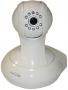 Внутренняя IP-камера c цветным датчиком CMOS, Wi-Fi и с разрешением 640х480, белая