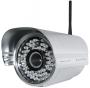 Наружная IP-камера с цветным датчиком CMOS, Wi-Fi и разрешением 640X480, алюминий