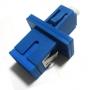 Розетка оптическая переходная LC-SC, одномодовая, корпус металл