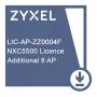 Лицензия Zyxel на увеличение числа управляемых точек доступа (8 AP) для NXC5500  /  E-ICARD 8 AP NXC5500 LICENSE