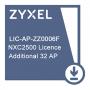 Лицензия Zyxel на увеличение числа управляемых точек доступа (32 AP) для NXC2500 / E-ICARD 32 AP NXC2500 LICENSE