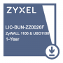 E-iCard 1 YR Content Filtering/Anti-Spam/Kaspersky Anti-Virus/IDP License for ZyWALL1100 & USG1100
