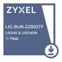 E-iCard 1 YR Content Filtering/Anti-Spam/Kaspersky Anti-Virus/IDP License for USG40 & USG40W.