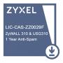 Подписка на сервис Zyxel AV (антивирус) сроком 1 год для USG310 и ZyWALL310  /  LIC-KAV,E-iCard 1 YR Kaspersky Anti-Virus License for ZyWALL310 & USG310