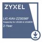 E-iCard 2 YR Kaspersky Anti-Virus License for USG60 & USG60. Карта подключения услуги обновления базы антивируса Касперского для USG 60 и USG 60W на два года.