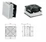 Вентилятор с фильтром LV 200 (130X130 мм) для шкафа SZE2 ZPAS